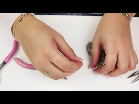 Bijoux à faire soi-même : Anges festives DIY avec Chaîne maille jaseron  ♡ DIY