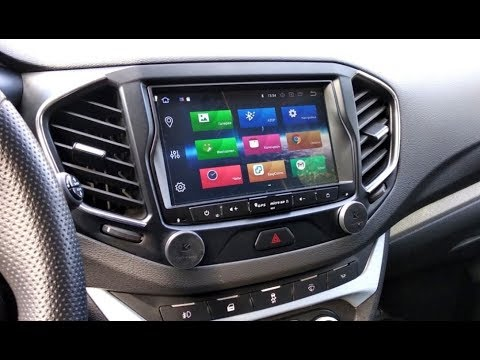 Lada Vesta. Сенсорная магнитола на Android 8. Установка.