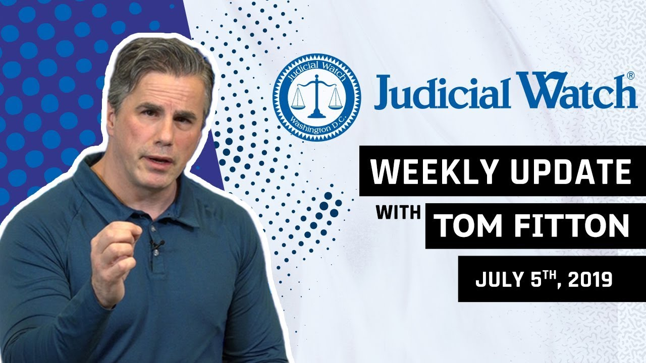 Judicial Watch State Dept. WARNED about Clinton Email Issues, Questions for Mueller, & Ongoing B