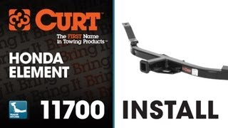 Trailer Hitch Install: CURT 11700 on 2006 Honda Element