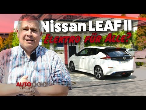 NISSAN Leaf 2018 - Erster Test mit Habby
