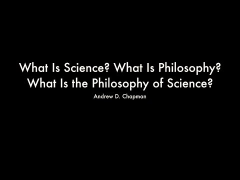 What Is Science? What Is Philosophy? What...