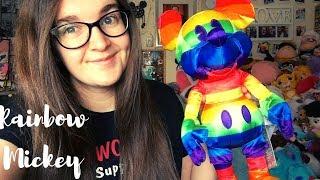 PRIDE 2019 Rainbow Mickey | Shop Disney UK Plush Review
