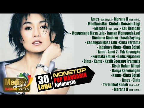 NONSTOP POP MANDARIN INDONESIA (30 LAGU) SIDE A - Full Album