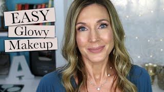 Soft Glowy Makeup Tutorial for Mature Women!