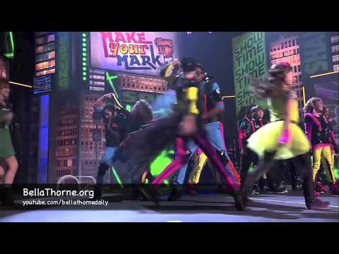 "Bella Thorne & Zendaya Perform ""Fashion Is My Kryptonite"" on Make Your Mark 2012"