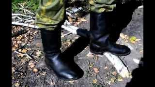 сапоги юфтевые морской пехоты СССР (Ромны)