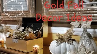 💎🍂🍁 Gold Glam Fall Ideas for Home Office