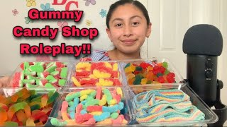 ASMR~Gummy Candy Shop Roleplay!! 🍬🍭😋