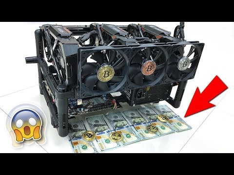 GPU Mining Rig - NVIDIA GTX 1080 Ti Crypto Miner for Bitcoin Gold, Zcash and More!