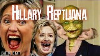 Hillary Clinton pruebas y evidencias de que es reptiliana iluminati