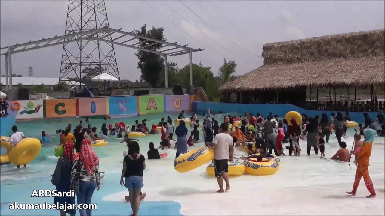 Kolam Renang Berombak di Cikao Park Purwakarta  Wisata Purwakarta