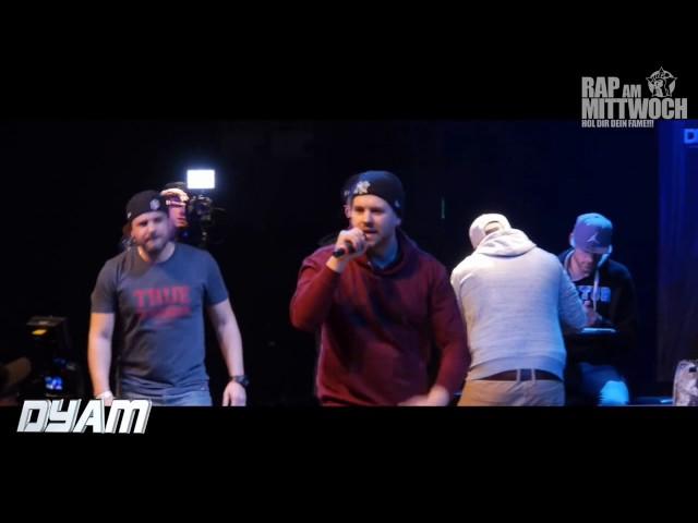 Dyam bei Rap am Mittwoch in Dortmund