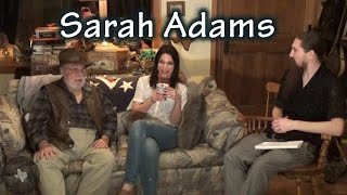 Sarah Adams interview by Daniel Alan Jones with Jim Marrs