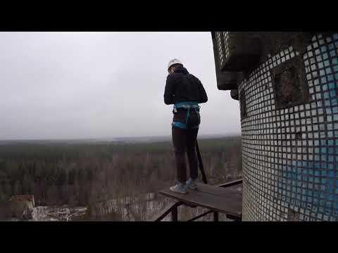 Прыжки с Гвоздя с командой RAPT - Даниил
