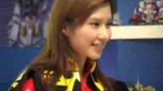 Gundam Cosplay Girl Samantha