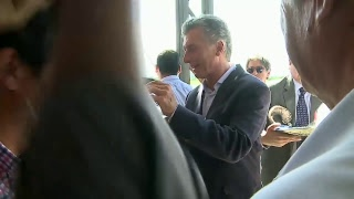 El presidente Mauricio Macri lanza una zona franca en Jujuy