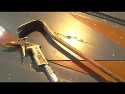 Damaged 100 year old Norwegian door needing repair and Paint renewal (part 2)
