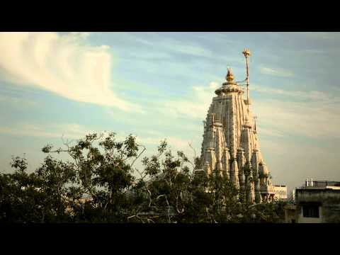 Living PostCard from India Jagdish Temple, Udaipur HD