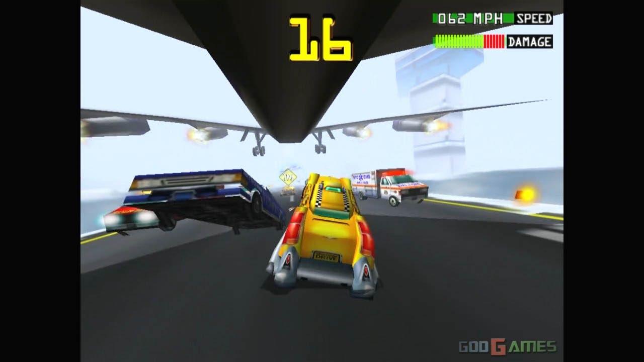 Smashing Drive - Gameplay Gamecube HD 720P (Dolphin GC/Wii Emulator)