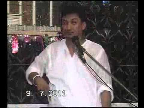 Hussain  ,as, Aa Ae haen urdu Qasida by zakir ghulam  abbas ratan  on 3 shiban viladat e imam Hussai