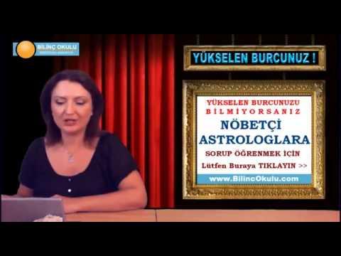 YAY Burcu Astroloji Yorumu  08 Ekim 2013  Astrolog DEMET BALTACI   astroloji, astrology