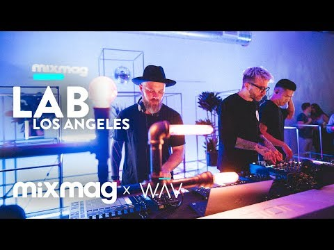 THE GLITCH MOB live set in The Lab LA