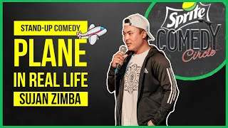 Plane in Real Life | Stand-up Comedy by Sujan Zimba
