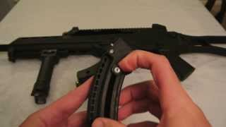ruger 10 22 archangel marauder mag well modification for hc3r mags