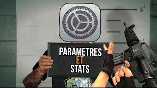 Mes paramètres et stats (Setting)