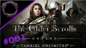 Elder Scrolls Online #001 - Der Anfang - Let's Play ESO PS4 - Deutsch HD