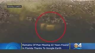 Google Earth Satellite Image Leads To Remains Of Missing Florida Man 22 Years Later