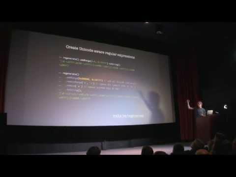 Frontend.fi: Mathias Bynens - JavaScript and Unicode