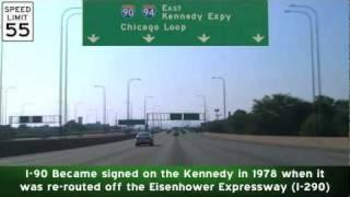 Kennedy & Dan Ryan Expressways East: Chicago, IL