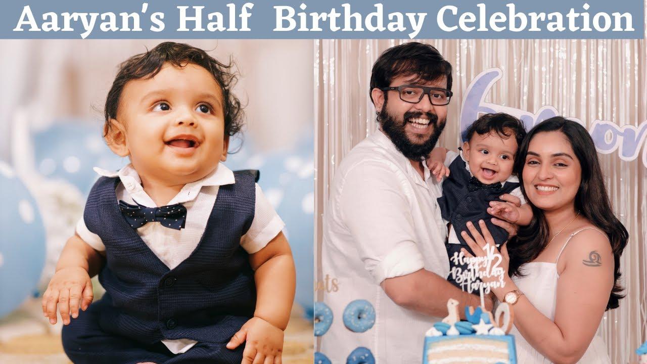 Aaryan's 6 month Birthday Celebration | Nimmy Arungopan | Arun Gopan | Aaryan Gopan