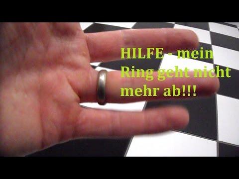Lifehack: Ring vom Finger bekommen - so wird es gemacht