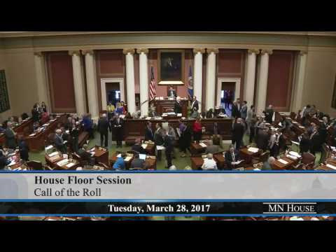 House Floor Session - part 1  3/28/17