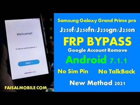 Samsung Galaxy Grand Prime Pro J250F/J250FN/J250GN/J250N FRP Byass
