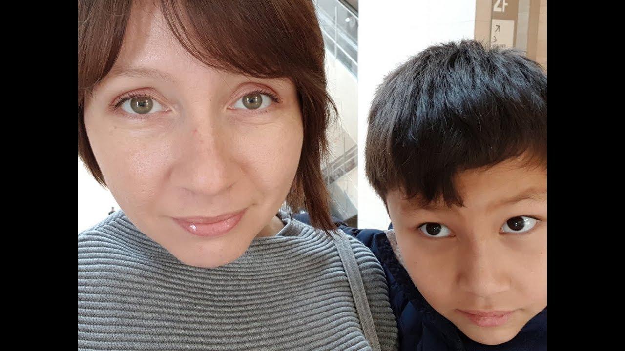 Русский мать пристает сыну
