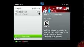 How To Download The NBA 2K13 Demo If You Don
