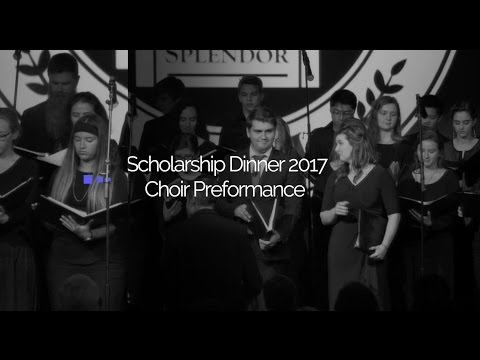 2017 Scholarship Dinner Choir Performance