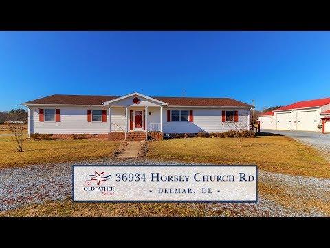 Property Exclusive: 36934 Horsey Church Rd, Delmar (Sussex), DE, 19940