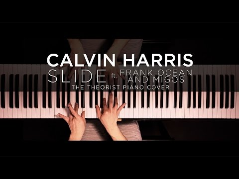 Calvin Harris ft Frank Ocean & Migos  Slide  The Theorist Piano