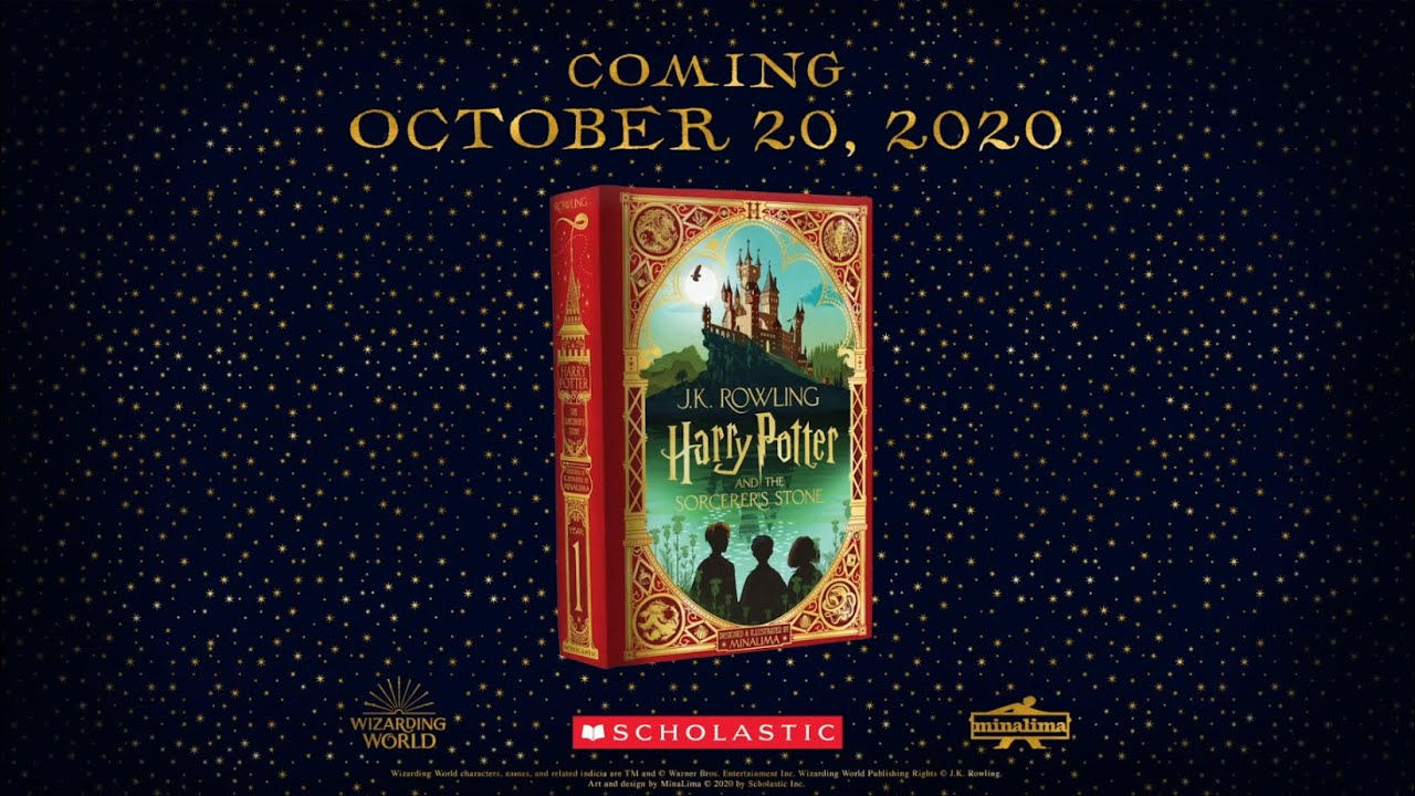 Download Harry Potter and the Sorcerer's Stone by J.K. Rowling: MinaLima Edition