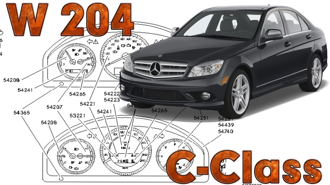 c class w204 fault locations electrical system equipment and pre fuse box w204 [ 1280 x 720 Pixel ]