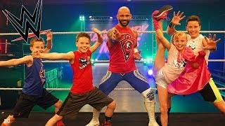 WWE Superstars Team up with Ninja Kidz!