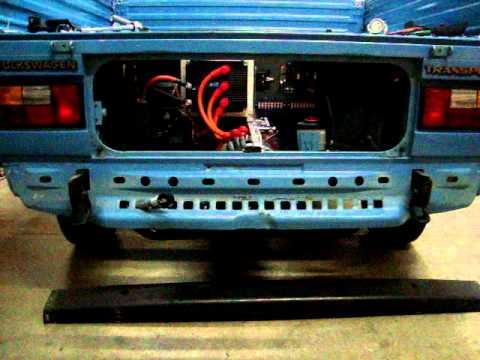 Electric VW Transporter Episode 9
