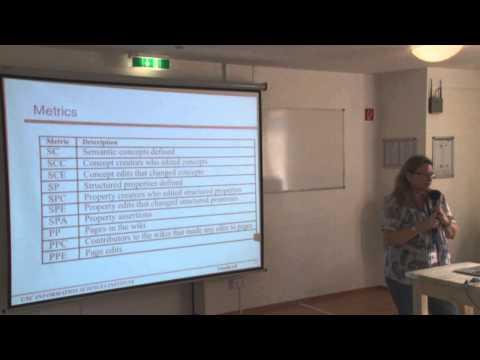 Yolanda Gil - An Analysis of Semantic Wiki Communities, SMWCon Fall 2013
