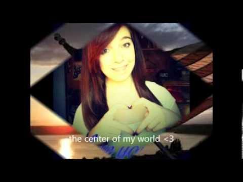 Center of my world lyric video