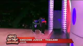 World Hip Hop Dance Championship 2018 รุ่น Junior